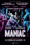 MANIAC - Elijah Wood – Movie Wall Poster Print – A4