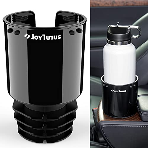 JOYTUTUS Cup Holder for Car, Upgraded Stable Cup Holder Expander for Most Car Cup Holder, Large Car Cup Holders Hold 18-40 oz Bottles and Mugs, Cup Holder Adapt Most Regular Cup Holder