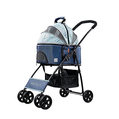 PETKIT Bon Voyage Pet Stroller for Small or Medium Cats Dogs, Dogs Cats Travel...