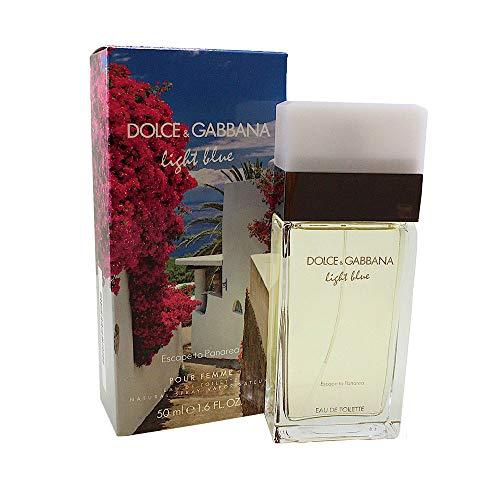 Dolce & Gabbana Light Blue Escape To Panarea femme / woman, Eau de Toilette Vaporisateur / Spray 50 ml, 1er Pack (1 x 50 ml)
