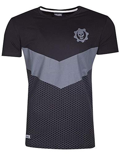 Gears of War - Tech Logo - T-Shirt | Offizielles Merchandise, Größe:XL