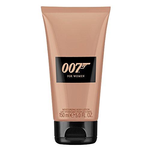 James Bond 007 For Women – Moisturizing Body Lotion – Orientalisch-blumige Damen Feuchtigkeitscreme - wie für ein Bond Girl geschaffen – 1er Pack (1 x 150ml)