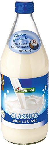 Münsterland Milch 1.5 Prozent, 12er Pack (12 x 500 ml)