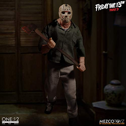 One:12 Friday The 13th Part 3 Jason Voorhees Mezco Toyz Figure Collective Horror