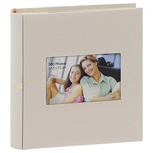 Album Photo à pochettes Square Beige 300 photos 11.5x15 cm