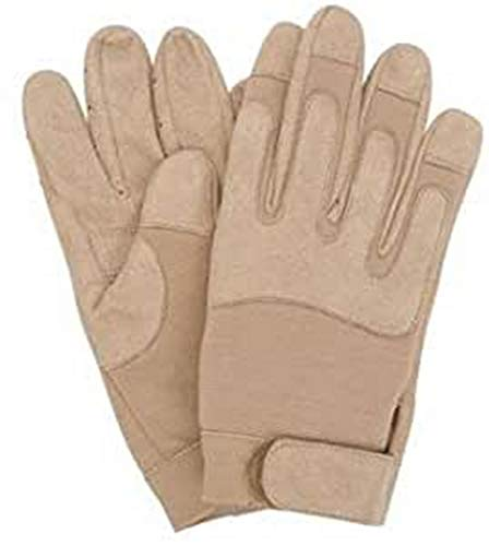 GANTS ARMEE COYOTE TAN SABLE CUIR SOUPLE LEGER MILTEC 12525005 AIRSOFT TAILLE M