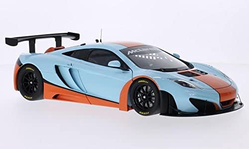 McLaren 12C GT3, Gulf, 2012, Modellauto, Fertigmodell, AUTOart 1 18