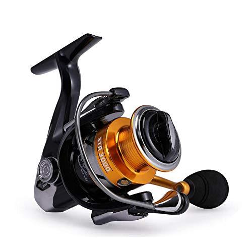 DLSM Cabezal de Metal Completo sin Hueco Carrete de Pesca Rueda giratoria Carrete de Pesca con caña de mar Carrete de Pesca Luya-7000