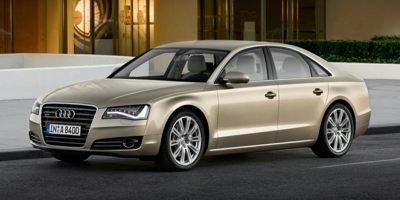 Representative 2014 A8 Quattro shown. Audi