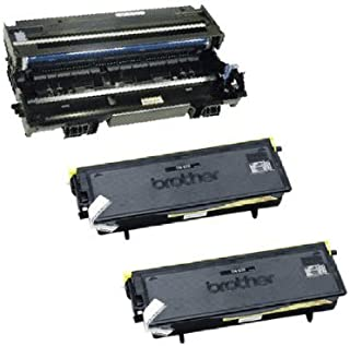 Compatible - Brother MFC-8460N Drum and (2) Toner Cartridges Combo