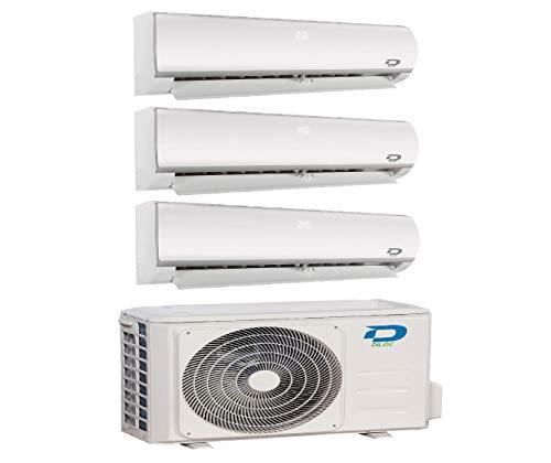professionnel comparateur Climatiseur inverter Diloc avec plusieurs sections split avec réfrigérant R32, compresseur pointu… choix