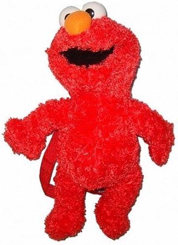 tienda de bajo costo Sesame Street Elmo Plush Plush Plush Doll Backpack Bag 15 inches by Sesame Street  minorista de fitness