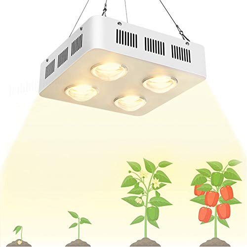 LED Plant Grow Light, for Hydroponic Veg and Flower Full Spectrum Growing Lamp with Hanging Kit, AC85-265V (1200W)