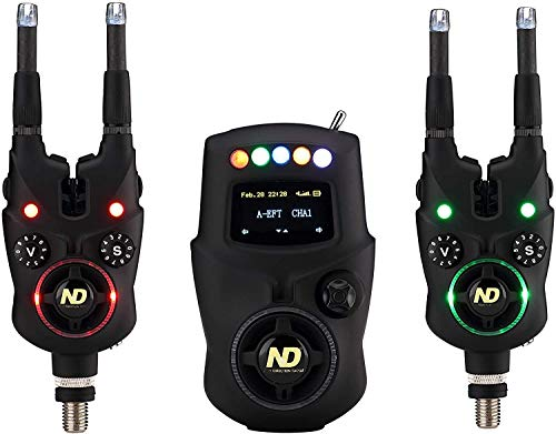 New Direction Tackle Smart Bissanzeiger 2+1 (K9s+R9s) Set for Carp Fishing