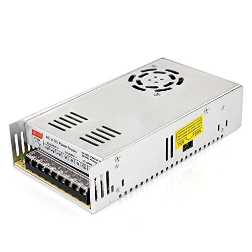 Surom 12v 30a Dc Universal Regulated Switching Power Supply 360w for CCTV, Radio, Computer Project