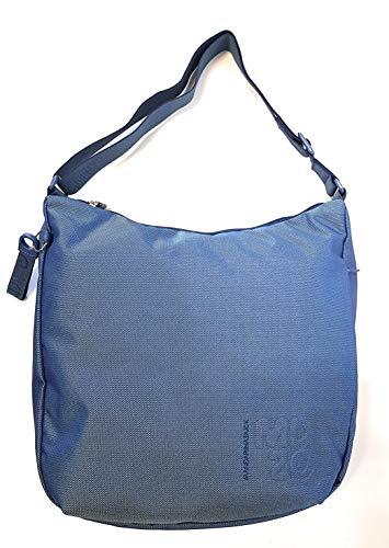 Mandarina Duck Md20 - Borsa a tracolla da donna, 35 x 32 x 10 Classic Blue