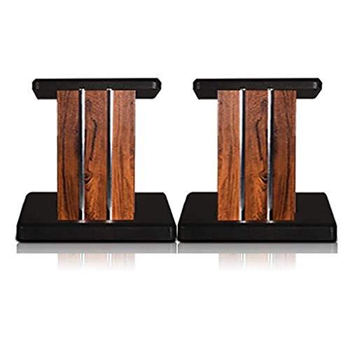 Möbel Lautsprecherständer Massivholzständer High-End-Lautsprecher Begleiter Stabiler Stoßfest Lautsprecher Stativ / 2ST (Color : C, Size : 80CM)