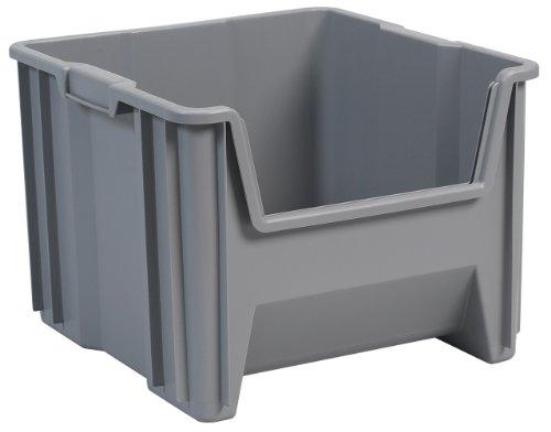 FLEXIMOUNTS 2-Pack 2x6ft Garage Shelving 24-inch-by-72-inch Wall Shelf Garage Storage Rack Floating Shelves, Black