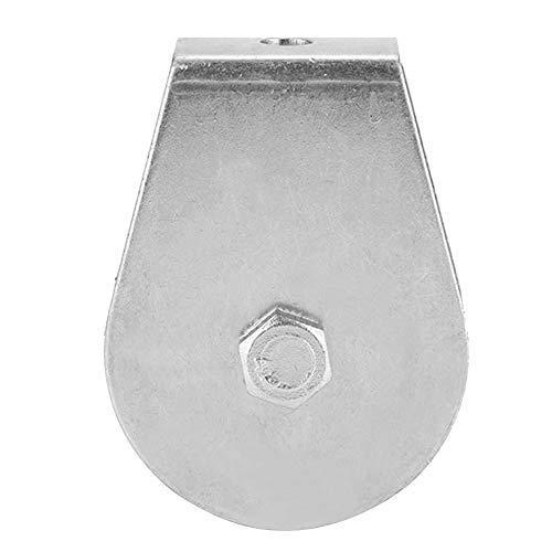 0.3 Toneladas de Carga Polea Simple Bloque de Polea Giratoria Rueda de Elevación de Rodillo Para Cable de Acero Inoxidable Material(All-inclusive acyclic bearing)