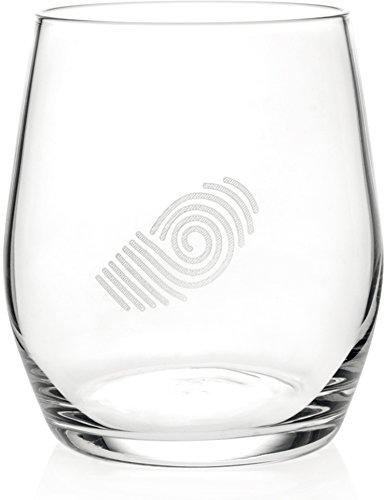 RCR Theonlyone glazen, helder glas, 6 stuks