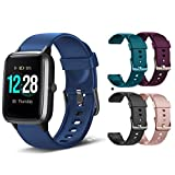 MCNNADI Smart Watch Fitness Tracker [with 4...