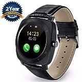 Lambent X3 Bluetooth Wrist Smartwatch with Camera (Black)