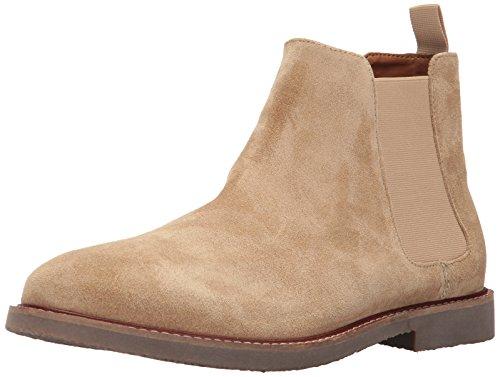 Steve Madden Men's Highline Chelsea Boot, Sand Suede, 12 US/US Size Conversion M US