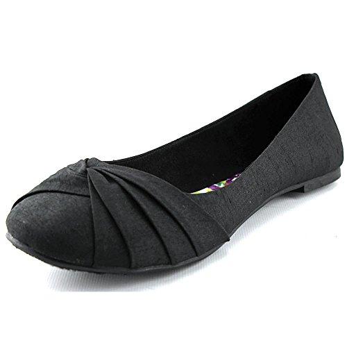 Rocket Dog Women's Myrna Thai Silk Slip On Ballet Flat Black Size 8