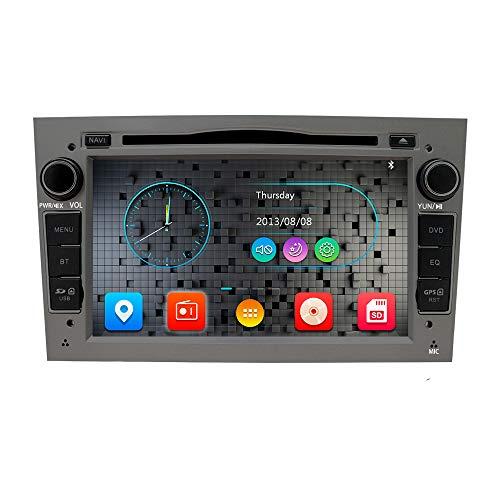 Freeauto 7 Pulgadas Car Audio estéreo Doble DIN en Tablero paraOpel Corsa Vectra Antara Vivaro Reproductor de DVD para Coche FM/Am Radio estéreo HD Pantalla táctil Navegación GPS