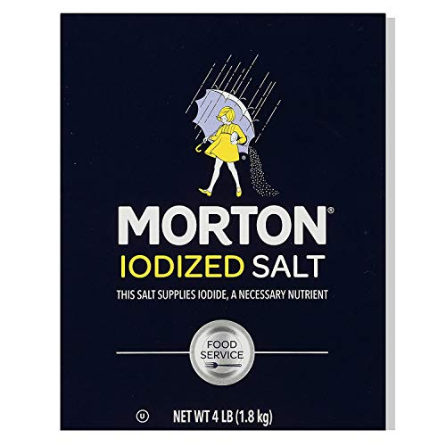 Diamond Crystal Table Iodized Salt, 4 Pound
