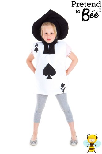 Playing Card - Kids Costume 3 - 7 years