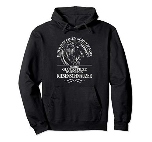 Riesenschnauzer Schutzengel Hund Hunde Hundespruch Pullover Hoodie
