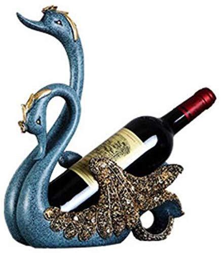 Estante para Vino, Estatua de Resina, Estante para Vino, hogar, Sala de Estar, Escritorio, gabinete de Vino, Accesorios de decoración, Bronce