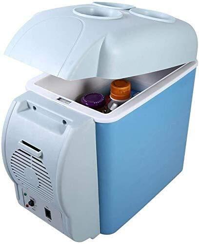 Zzaoxin Mini-réfrigérateur Bonne portable voiture électrique Réfrigérateur, Mini Voyage Réfrigérateur, Congélateur, Multi-Function Accueil Cooler, Congélateur Warmers, avec des tapis antidérapants for