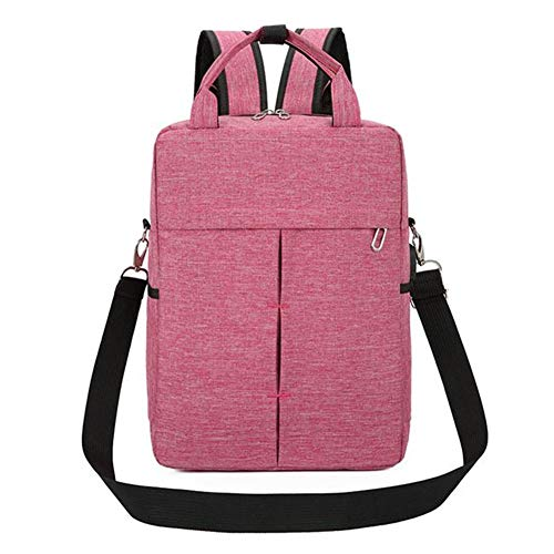 Fashion Women Men's Backpack USB Charging Bag Waterproof Multi-Function Rucksack School Laptop Backpack for Teenagers (Color : Pink)