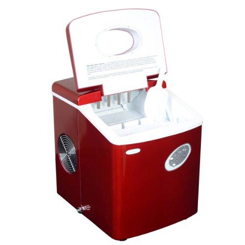 NewAir AI-100R Red Portable Ice Maker