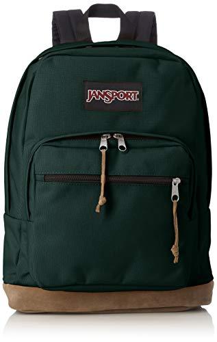 Jansport Men's Right Pack Polyester Backpack - Pine Grove Green