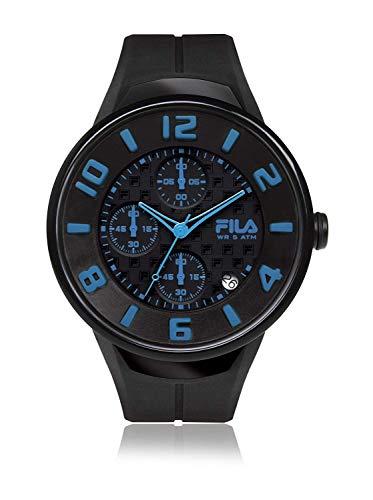 Fila Unisex Erwachsene Analog Quarz Uhr mit Silikon Armband FILA38-033-004