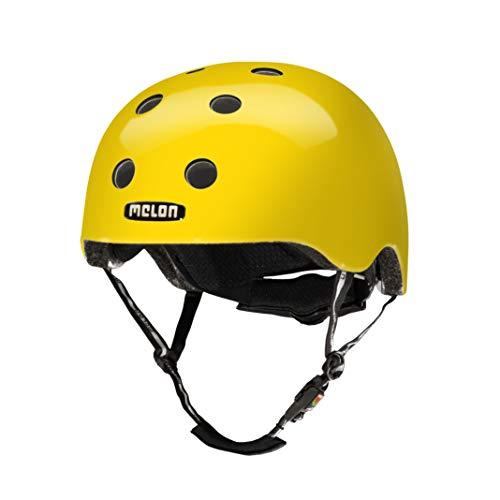 Melon Unisex– Erwachsene Urban Active-Rainbow Yellow M-L Helm, Gelb