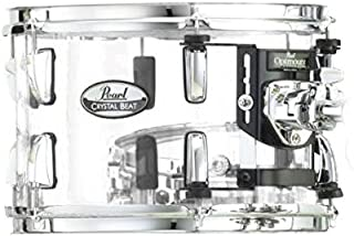 Pearl Crystal Beat Mounted Tom - 8 Inches - Ultra Clear