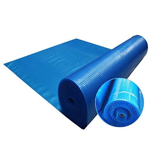 Couvertures de Piscine À Domicile, Couverture Solaire Rectangulaire Bleue pour Les Piscines Hors Terre, Anti-poussière Durable, Facile À Nettoyer (Size : 2x4m)