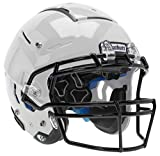 Schutt Sports F7 LX1 Youth Football Helmet with Facemask, White, Large