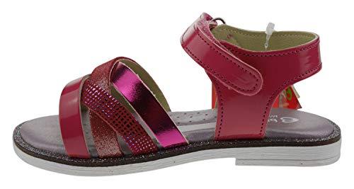 Billowy 6684c30 Leder Sandalen pink, Groesse:27.0