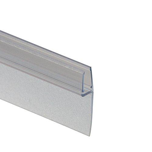 Schulte D2975 Premium Dichtung Universaldichtung vertikal/senkrecht für Duschkabine, Transparent