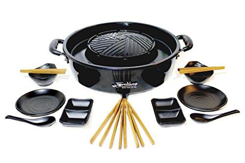 TomYang BBQ - Der Original Thai Grill & Hot Pot, inkl. Premium Zubehör für 2 Personen!