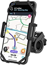 Bike Phone Mount by TruActive, Motorcycle Phone Mount, Bike Phone Holder, Cell Phone Holder for Bike - Universal, Bike Phone Mount Holder, Golf, ATV - 6 Color Bands - Any Phone or Handlebar, Tool Free