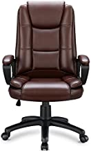OFIKA Home Office Chair, 400LBS 8Hours Heavy Duty Design, Ergonomic High Back Cushion Lumbar Back Support, Computer Desk Chair, Big and Tall Chair, Adjustable Executive Leather Chair With Arms (Black)