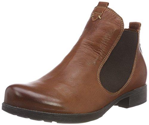 Think! Damen Denk_383011 Chelsea Boots, Braun (52 Sattel/Kombi), 39.5 EU