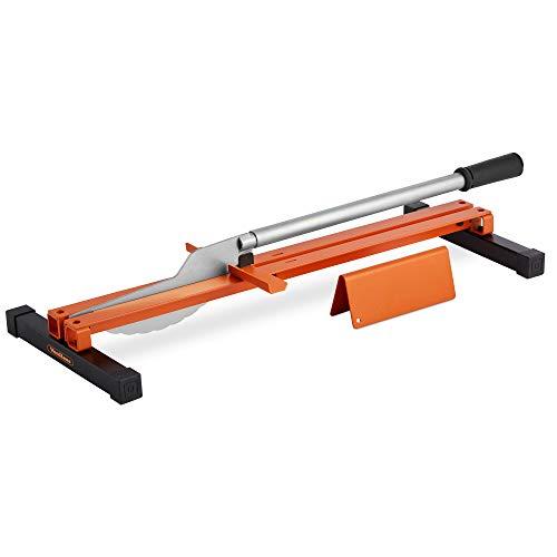 VonHaus Laminatschneider Schneidgerät für Laminat – Leichtes Schneidegerät für Laminat – Sauberes, akkurates Schneiden – Tragbares Modell, einfache Handhabung