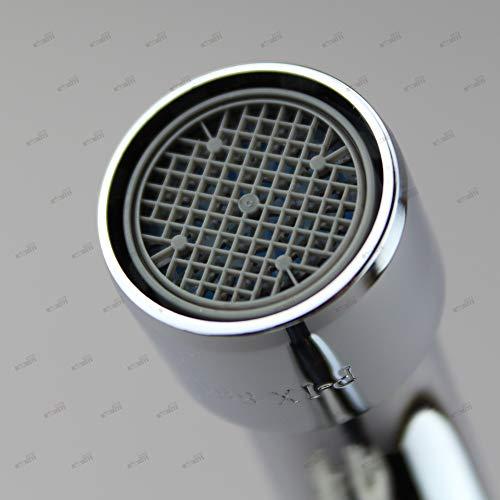 Spültischarmatur Wandarmatur Wasserhahn Spülbeckenarmatur Küchenarmatur Zweigriff Küchenarmatur - 3